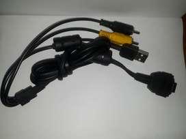 Cable Datos Usb Y Av, Vmc-md1 Para Cámaras Sony Cyber-shot