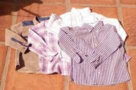 Camisas Niño Impecables!