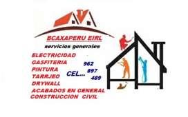SERVICIOS  GENERALES  ACABADOS  MANTENIMIENTO Y CONSTRUCCIÓN