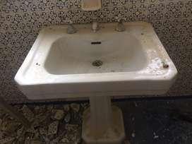Hermoso lavamanos vintage