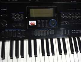 teclado casio CTK 6200 teclas sensitivas