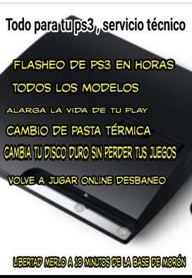 Servicio Tecnico Ps3