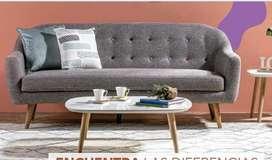 Vendo sofa nuevo 10 meses de uso , integro como nuevo