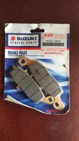 Pastillas de freno delanteras traseras originales Suzuki