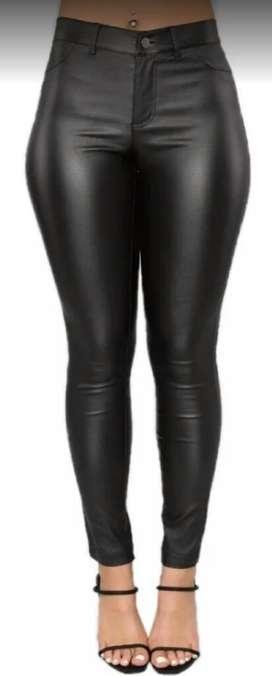 Pantalon Engomado Zara 36
