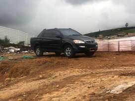 Vendo ssangyong Actyon sport  4x4 gasolina