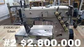 Se Venden máquinas de confección para tejido de punto, plano y corseteria. De segunda en muy buen estado