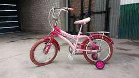 Bicicleta barbi 100