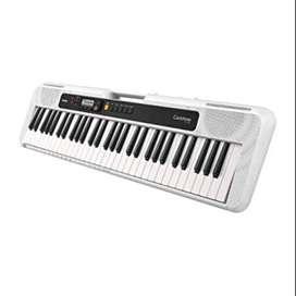 Teclado CASIO CT-S200 Blanco Piano Casiotone con adaptador nuevo