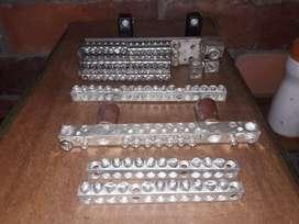 Barrajes en aluminio