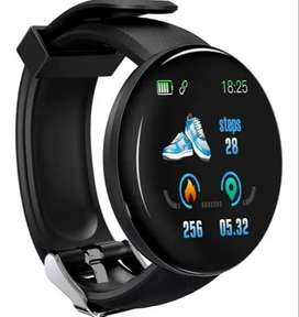 Smartwatch Reloj Inteligente D18 con Bluetooth