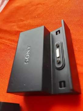 Cargador magnético dock base de carga magnetica original Sony DK48 para Expedia Z3