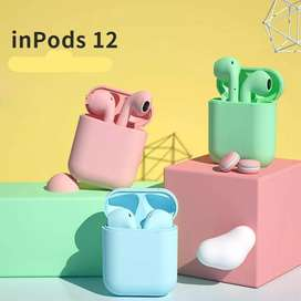 Audifonos Inpods 12 con cover