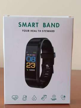 Vendo Reloj Smart band Your Health Steward-NEGRO