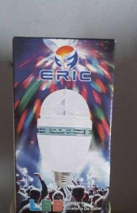 Luz led giratoria de colores nueva- 220v-eric