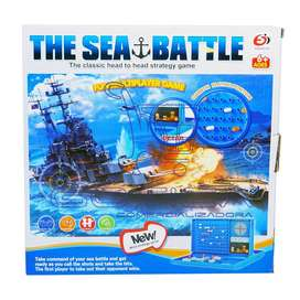 Juego De Mesa Batalla Naval - Astucia Naval The Sea Battle