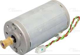 Conjunto del motor del carro (eje de exploración): incluye cable. PLOTTER HP DESIGN JET SERIES 500/510/800