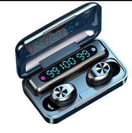 Audifonos inalambrico con Bluetooth TWS MODELO F9-10 deportivo a prueba de agua