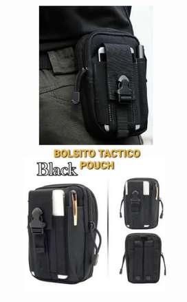 Bolsito tactico pouch y porta celular documentos tactico