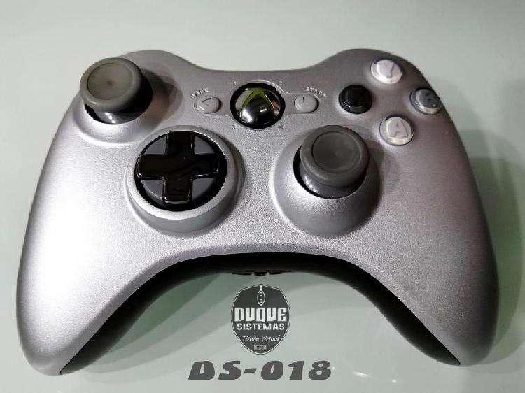 Control Xbox 360 edicion plata original 0