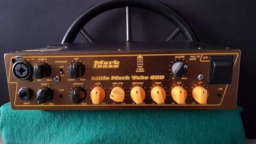 Cabezal de bajo a Tubos Mark Bass 0