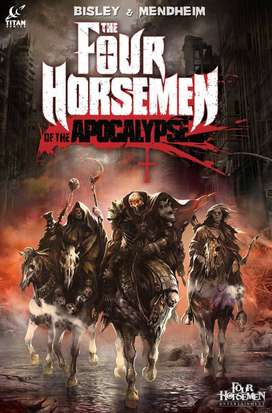 FOUR HORSEMEN OF THE APOCALYPSE COMIC AND GUIDE
