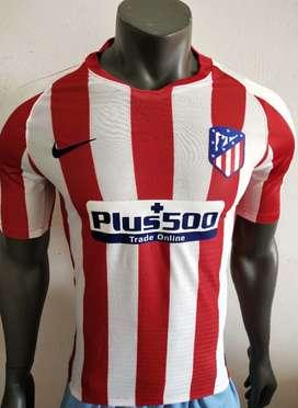 Camiseta local del Atlético de Madrid versión jugador