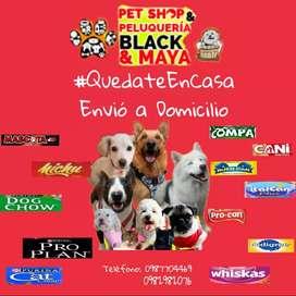 Pet Shop y Peluquería Black y Maya