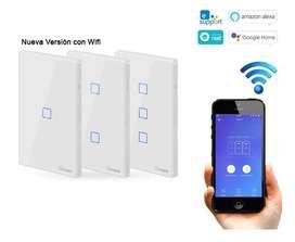 Interruptor Wifi Sonoff T0 Us Control Por App Celular Y Voz