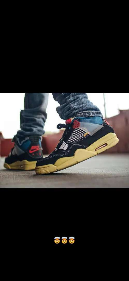 Tenis Nike Jordan Retro 4 caballero