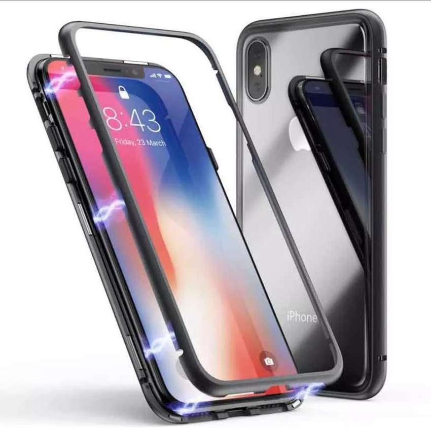 Case Magnético iPhone 7/8 Plus/ iPhone X Xr Xs Max/ iPhone 11/ 11 Pro Max 0