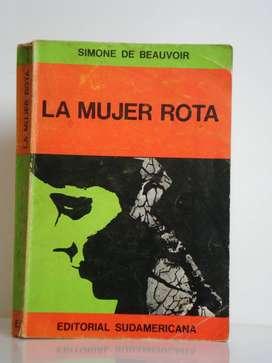 La mujer rota, La edad de la discreción, Monólogo Simone de Beauvoir