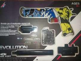 Juguete de colección pistola electrica