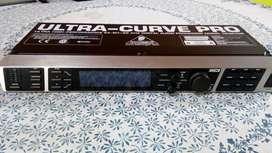 Driverack Behringer ultra curve pro 24/96 y micrófono Behringer para Equalizacion de sala