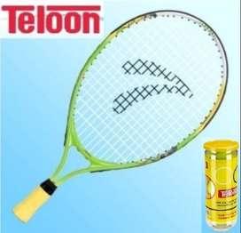 Raqueta De Tenis Infantil 19 '',c/funda + 3 Pelotitas, Combo