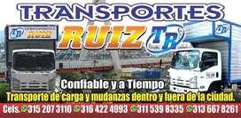 Mudanzas transporte Ruiz