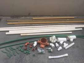 Vendo PVC - Gas - Aqua System - Varios