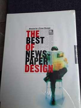 Libro de diseño gráfico The Best Of News Paper Desing  19th Edition