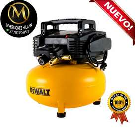 Compresor de aire  DEWALT 6 Gal 165psi d2002m-wk