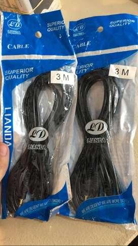 cable auxiliar 3m