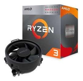 Procesador Amd Ryzen 3 3200g 4.0 Ghz Turbo + Radeon Vega