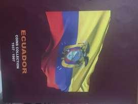 Álbum de monedas ecuatorianas