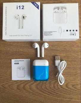Audífonos Inalambricos i12 Tws Bluetooth