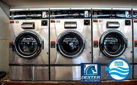 Lavadoras y secadoras industriales, Hospitales, Hoteles,Lavanderias