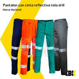 Pantalón de Seguridad Drill
