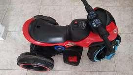 Moto PRINSEL electrica roja a bateria