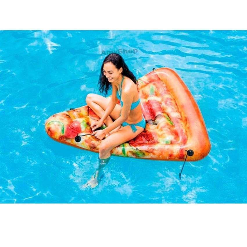Flotador Intex en forma de pizza 58752.