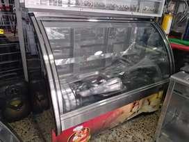 Congelador en acero