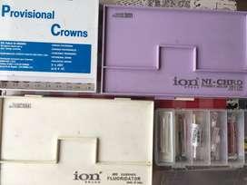 2 Kit de coronas molares  + 1 Kit Fluorización