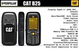 CATERPILLAR CAT B25 TELEFONO RESISTENTE AGUA POLVO GOLPES DUAL SIM LARGA DURACION BATERIA MP3 BLUETOOTH NAVEGADOR